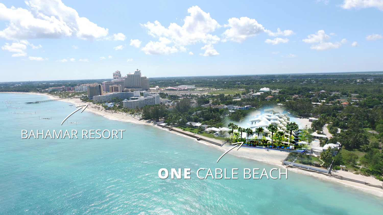 ONE Cable Beach Nassau close to Bahamar Resort