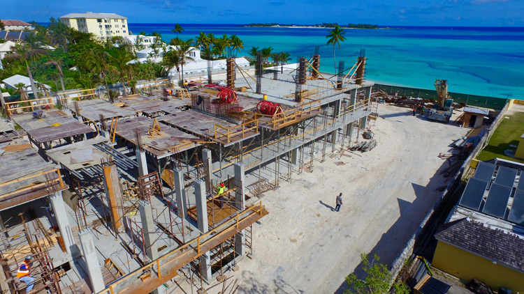 March 2016: One Cable Beach Construction Progress